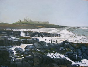 Image of Dunstanburgh Castle, Northumberland, Print