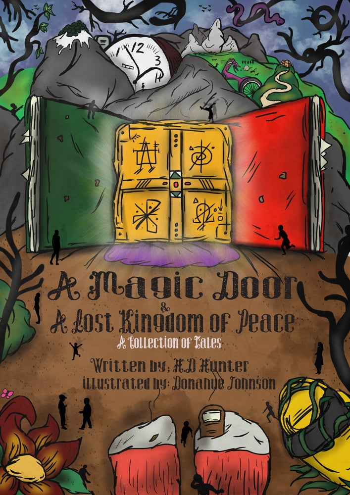 Image of A Magic Door and A Lost Kingdom of Peace [Print]