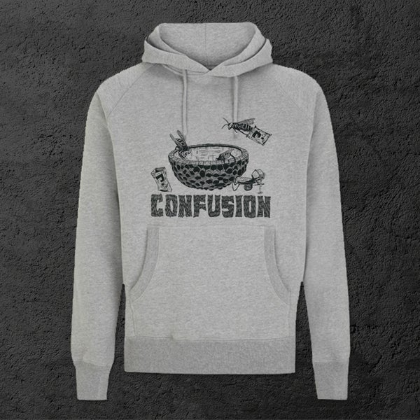 Image of Confusion - Bee DIY Hoody [heather grey]