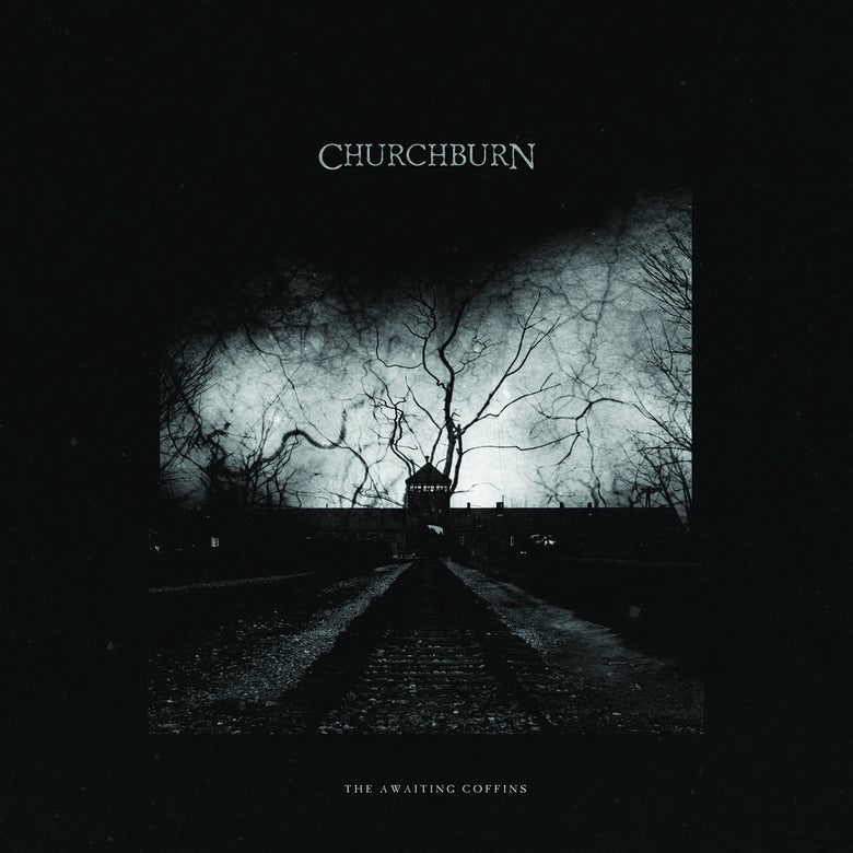 "Image of CHURCHBURN ""The Awaiting Coffins"" CD"