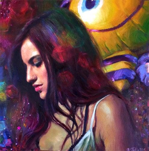 Image of Natalia Fabia 'Bumble' original art