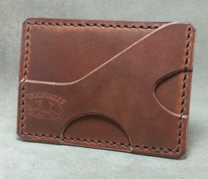 Image of Minimalist Front Pocket Carry Leather Wallet