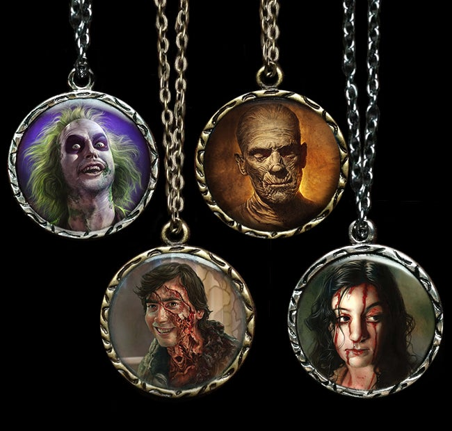 Image of Image Pendant Necklaces