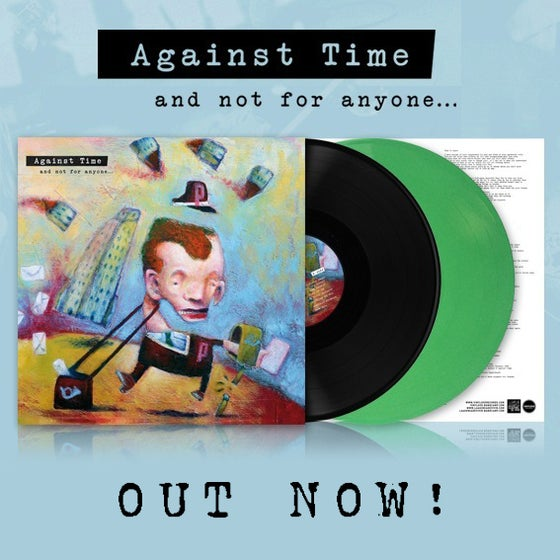 "Image of LADV61 - AGAINST TIME ""and not for anyone..."" LP REISSUE"