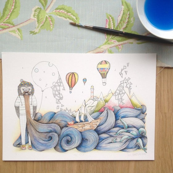 Image of The Sea Print