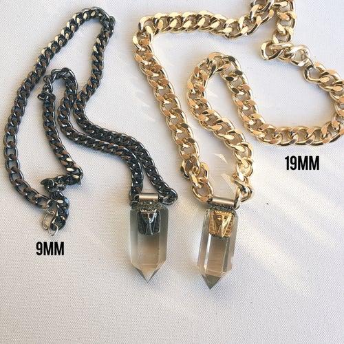 Image of IMHOTEP Men's Quartz Necklace