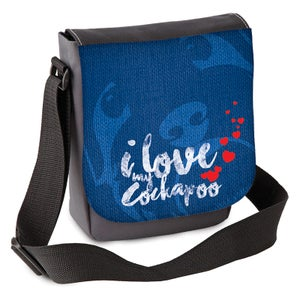 Image of 'I love my Cockapoo(s)' Mini Shoulder Bag