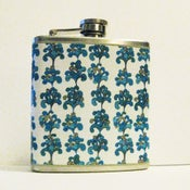 Image of Climbing Vines - Stainless Steel Flask - 6oz