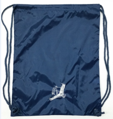 Image of Bag/Backpack-Draw String-Embroidered BVCA Logo