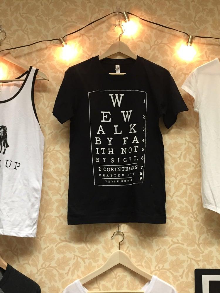 Image of Walk by faith shirt