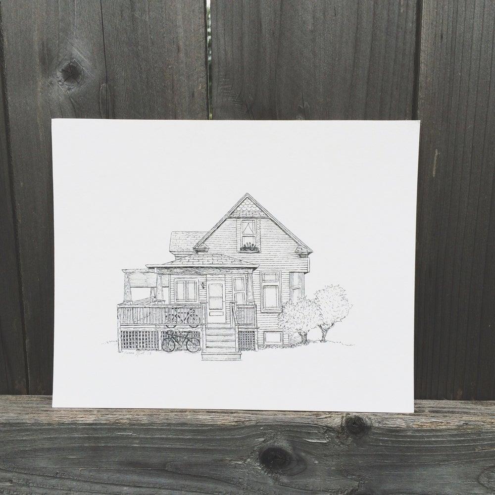 Image of Custom Home Portrait