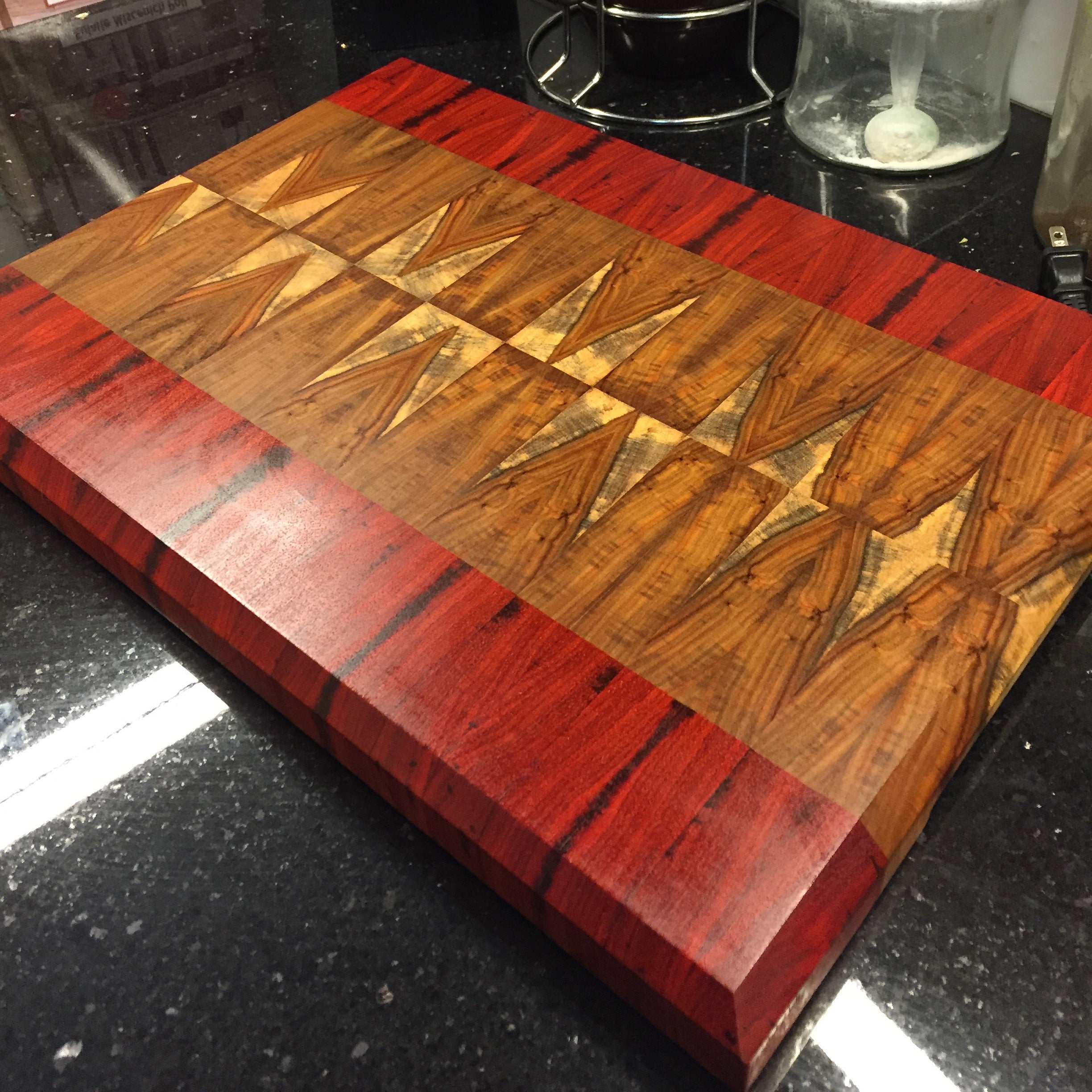 Canary and Padauk Cutting Board | Royal Wood Works