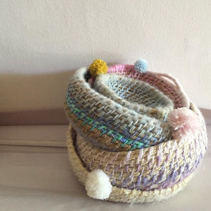Image of Basket Weaving  for beginners with Siân Boucherd Sunday 21st May 1-4pm