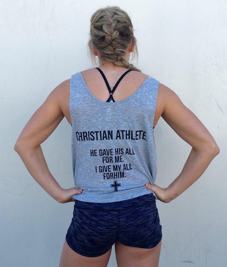 Image of Women's CHRISTIAN ATHLETE gray