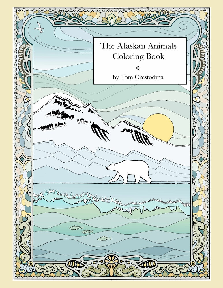 "Image of The Alaskan Animals Coloring Book 8 ½"" X 11"""