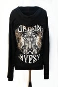 Image of Urban Gypsy Cotton Fleece Hoodie CHRYSALIS