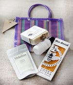 Image of Striped Pamper Bag