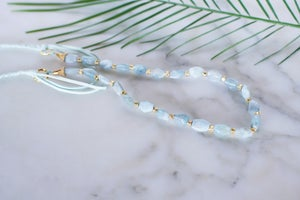 Image of Braids and Gems Necklace