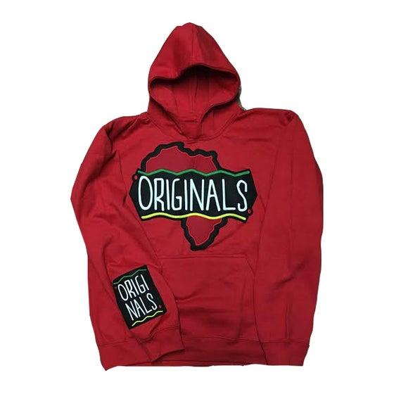 "Image of Originals ""Motherland"" Hoodie ""Red"""