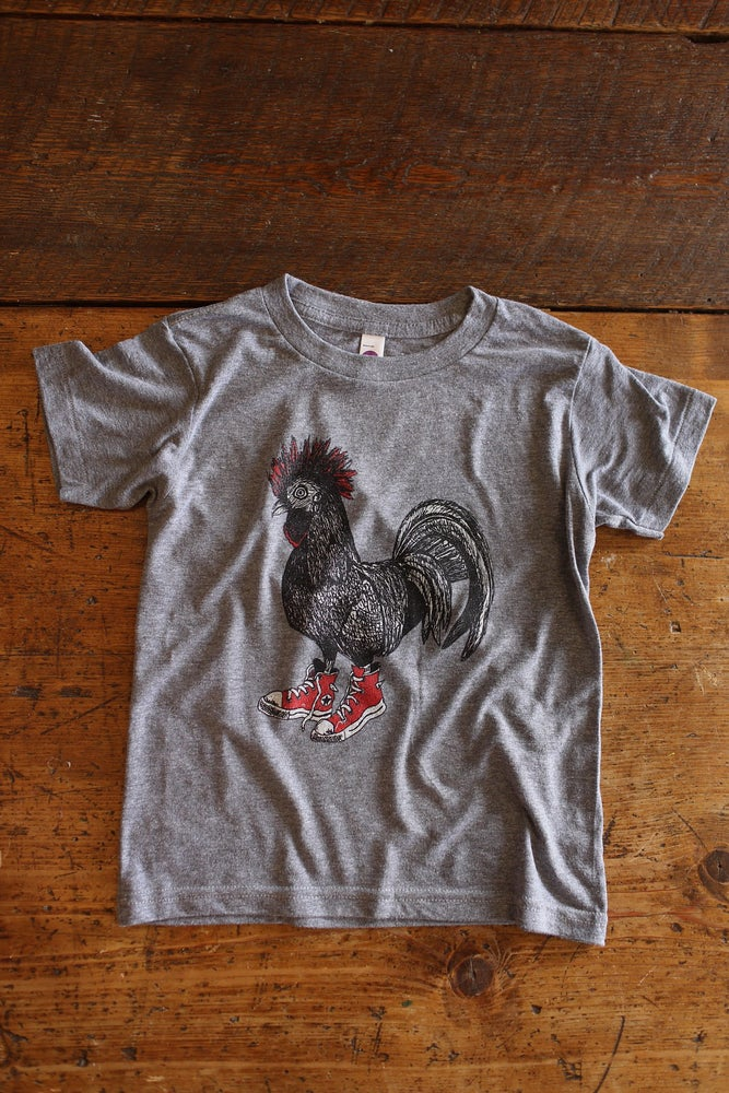 Image of Youth Cluck Taylor Short Sleeve Tee