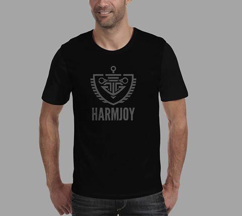 """Image of HARMJOY - Men's T-Shirt """"Logo"""""""