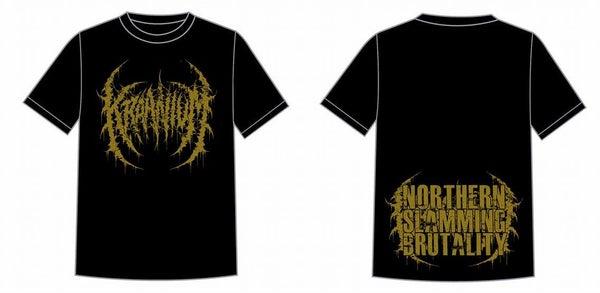 Image of KRAANIUM - Logo / Northern Slamming Brutality T-Shirt