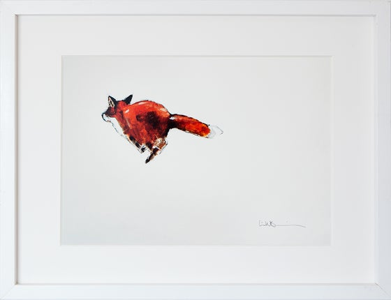 Image of A5/A4 Print # Fox - 100KR/250KR