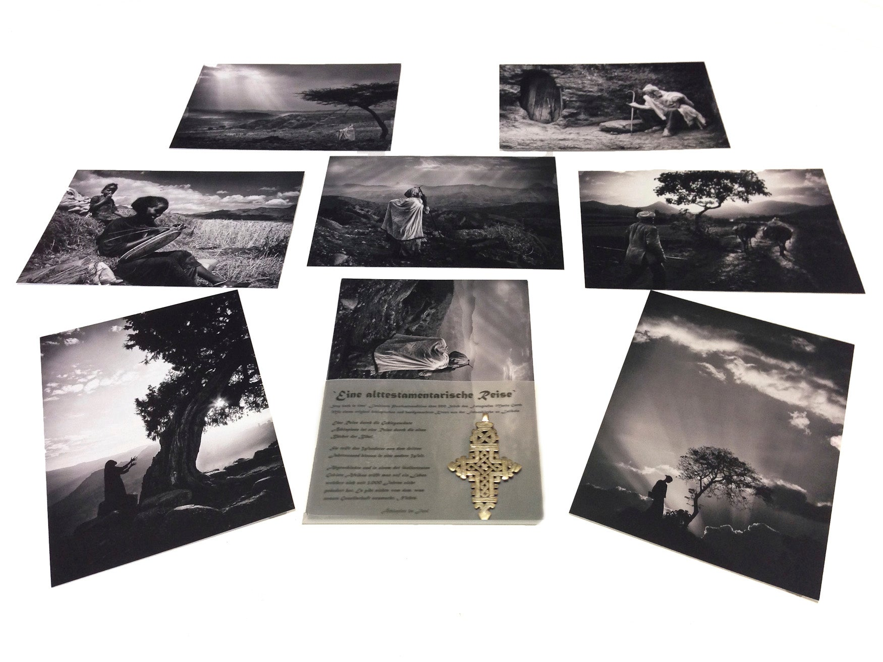 Limited Edition Postcard Set Inc. An Original Handmade Cross
