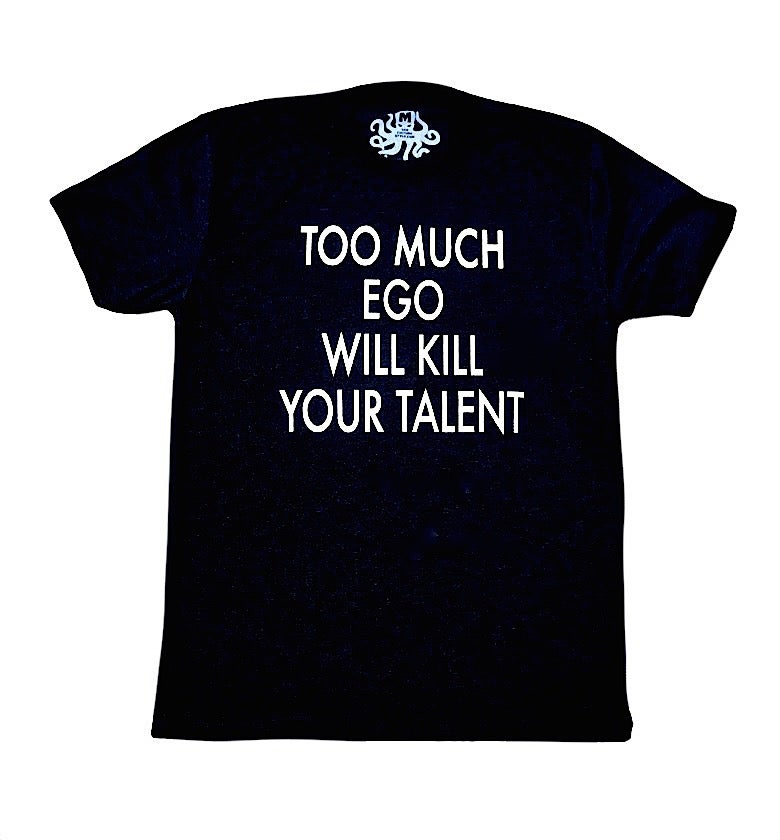 Image of TOO MUCH EGO... - Unisex Tee (Black)