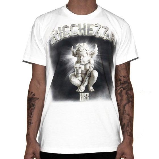 "Image of ""Baby Ricchezza"" Tour Tee (White)"