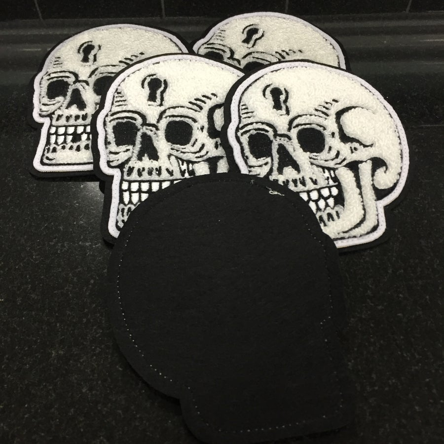 Image of PAUL NYCZ SKULL PATCH
