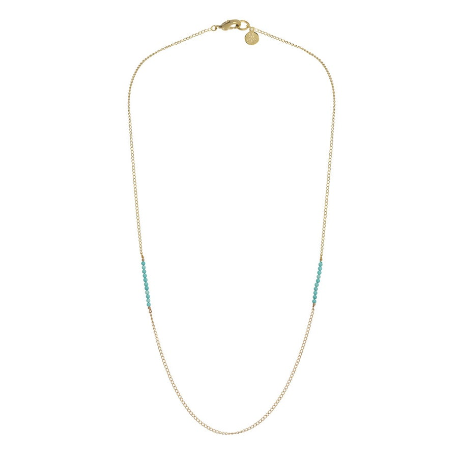 Image of SIDE STONED necklace