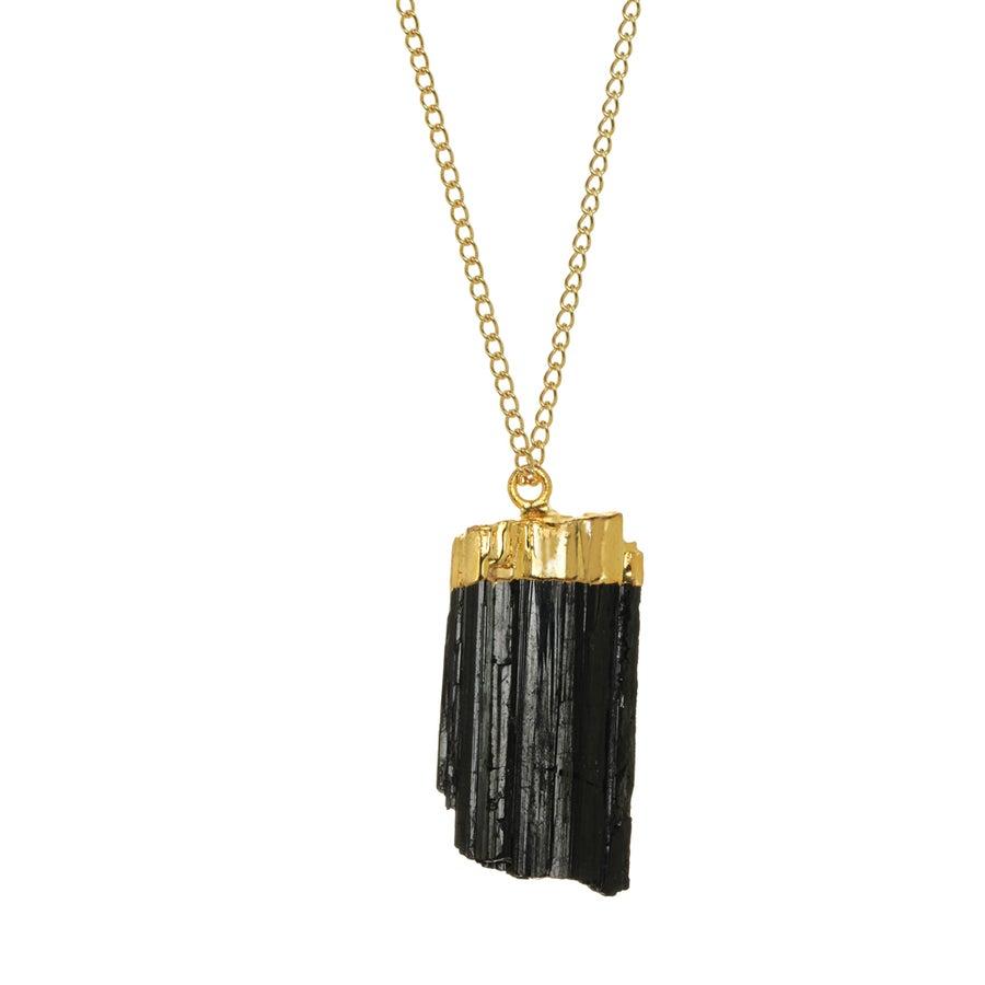 Image of BLACK TOURMALINE necklace