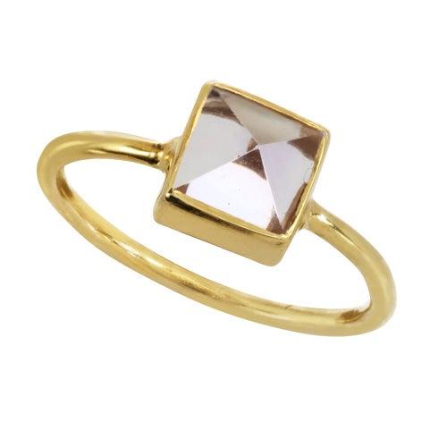 Image of GEMSTONE PYRAMID ring