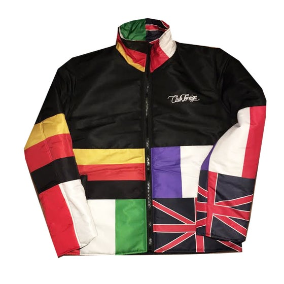 """Image of Club Foreign """"Worldwide"""" Jacket"""