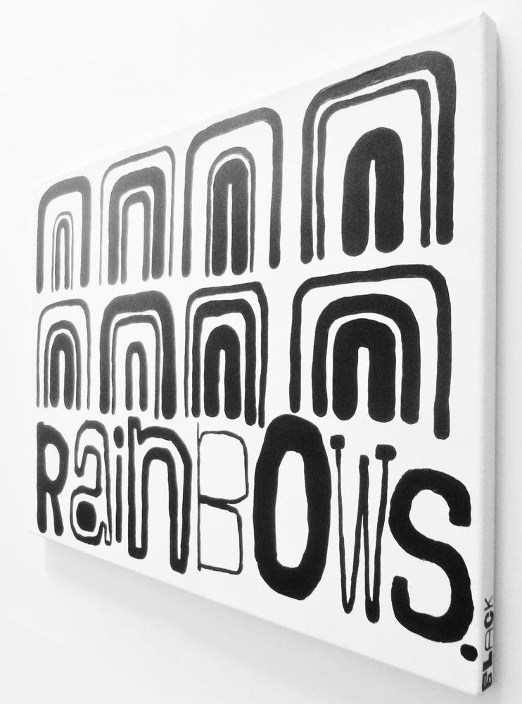 "Image of RAiNbOWS. - 18"" X 24"""