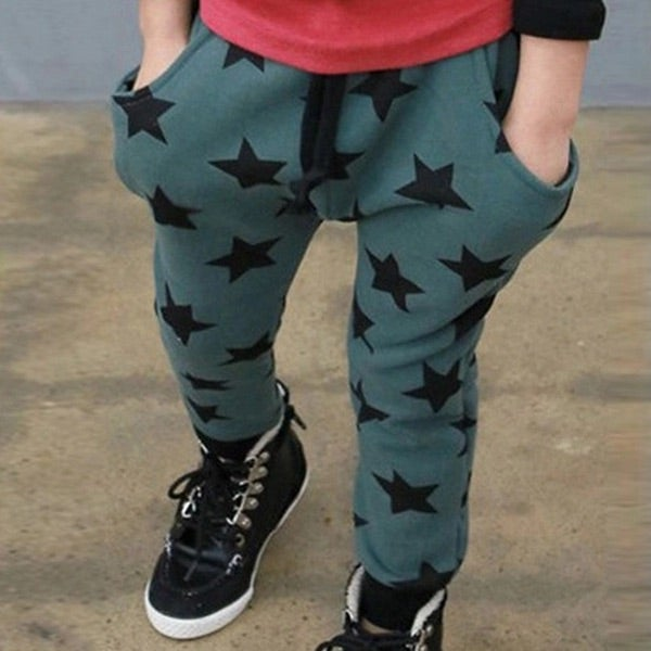 Image of Boys Star Jogging Trousers