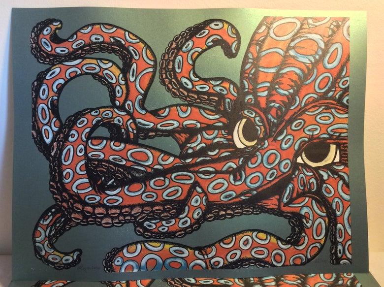 Image of Blue Ringed Octo Art Print