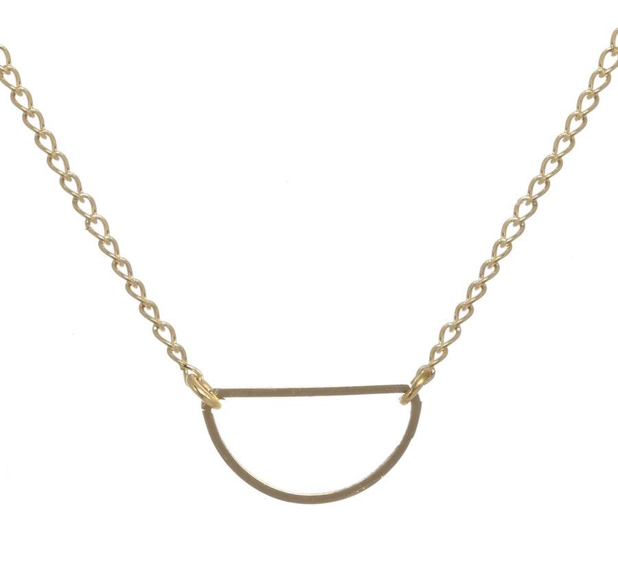 Image of HALF MOON ECLIPSE necklace