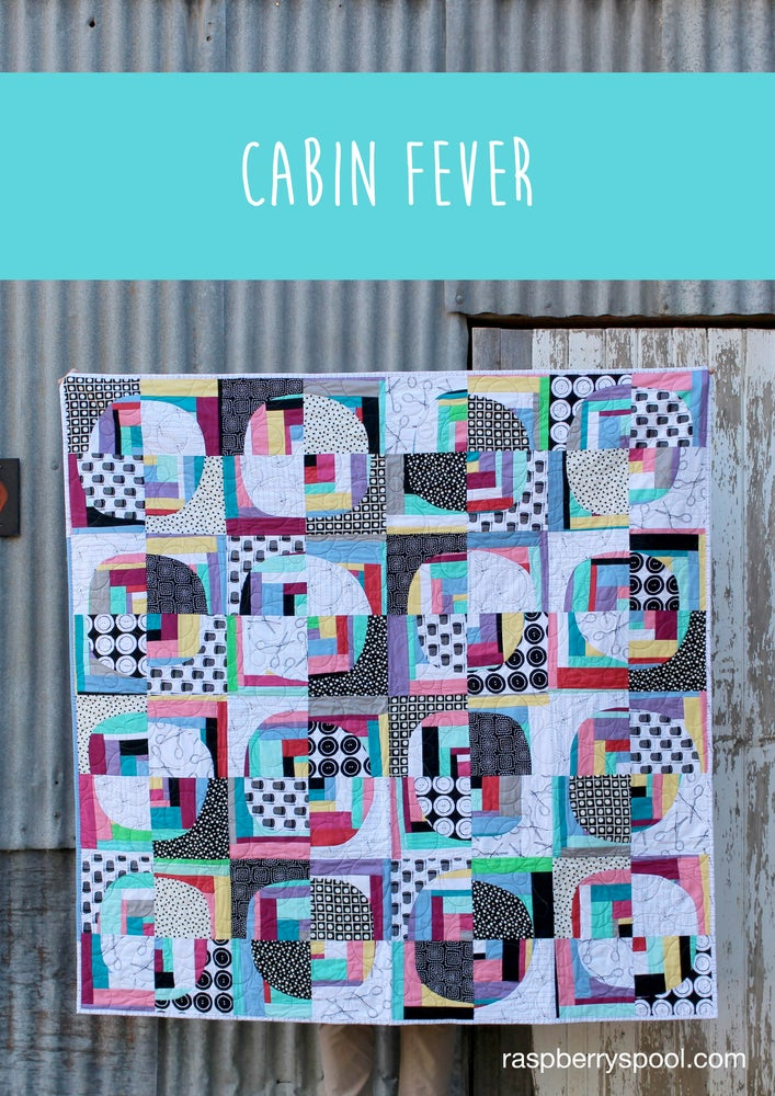 Image of Cabin Fever quilt pattern
