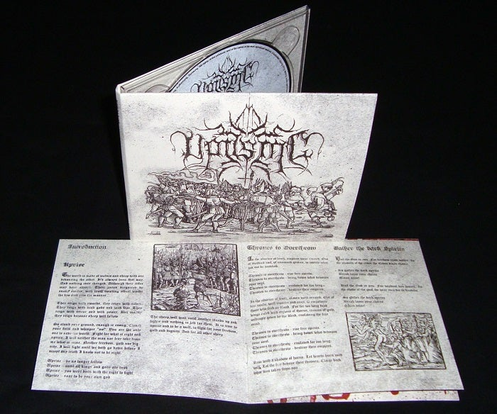 Image of Uprising - s/t Digipak CD