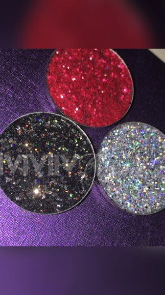Image of Custom pressed glitter palette