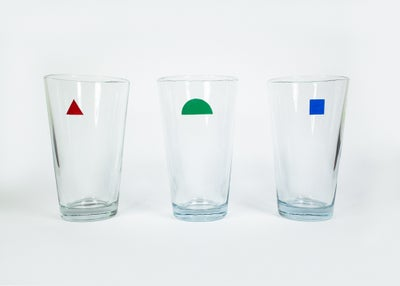 Image of Primary Drinking Glasses