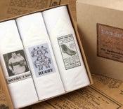 Image of Box of III Men's Handkerchiefs: Rugby