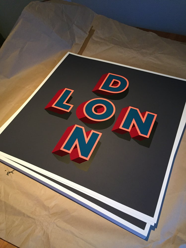 """Image of SOLD OUT - """"LONDON"""" by Gary Stranger"""