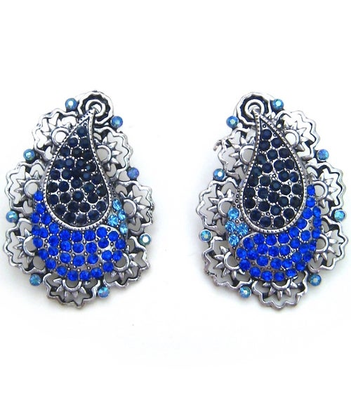 Image of Crystal Vintage Earrings (More Colors)