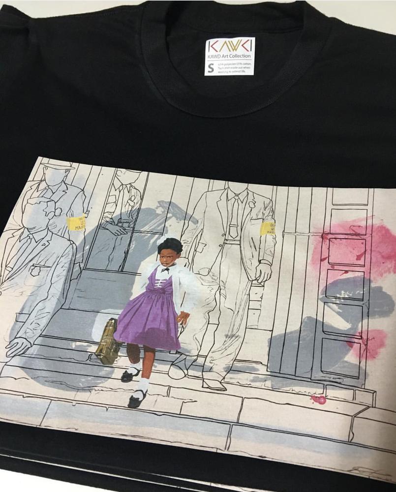 """Image of """"Brave Little Girl"""" t shirt"""