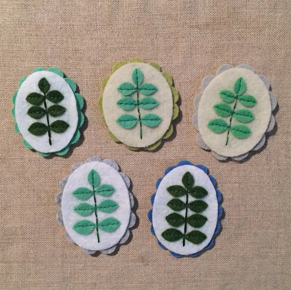 Image of cameo brooches // sprout edition