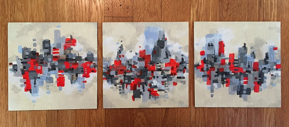 Image of Cloud City Triptych