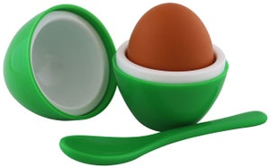 Image of Egg Per'fect Insulated Egg Cup & Spoon